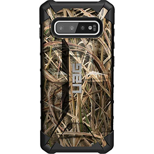 Mo Shadow Grass - Mossy Oak Shadow Grass Blades Camouflage Limited Edition Custom Laser-Printed Design by Ego Tactical on a Urban Armor Gear - UAG Case for Samsung Galaxy S10+ Plus
