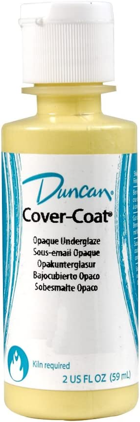 Duncan Cover-Coat Opaque Underglazes CC 140 Morocco Red 2 Ounce Bottle
