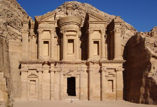 Petra El Deir Jordan Poster Photo Ancient Architecture Posters