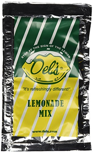 Del's Lemonade All Natural Lemonade Mix Four (4) Pack made in New England