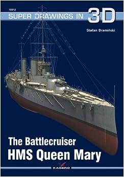 Battlecruiser HMS Queen Mary (Super Drawings in 3d 16012