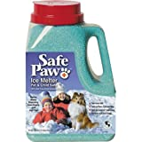 SafePaw Non-Toxic Ice Melter Pet Safe, 8-Pound, 3-Ounce