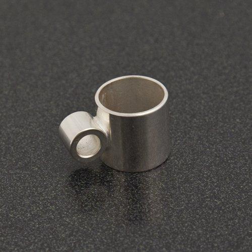 Conn/King Sousaphone Gooseneck Brace Ferrule Assembly, Silver Plated by Conn