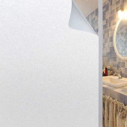 Coavas Privacy Window Film, Static Cling Frosted Window Film Suitable for The Smooth Glass Surface of Home and Office(35.6 x 78.7 inch)