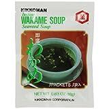 Kikkoman Instant Wakame Soup Seaweed, 18g