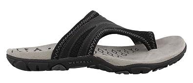 Merrell Women's, Sandspur Delta Flip Thong Sandals Black ...
