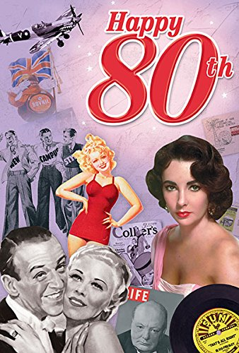 Amazon 80th Birthday Gifts For Men And For Women Happy 80th