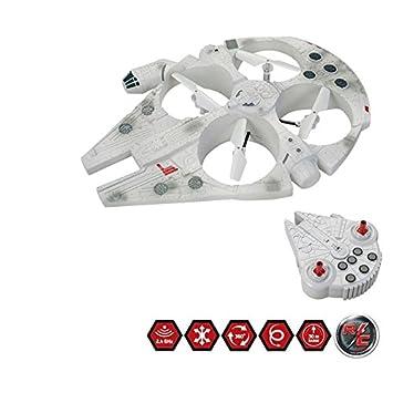 Star Wars Millennium Falcon Radio Control Dron de vuelo: Amazon.es ...