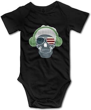 Body-bébé tête de mort 4
