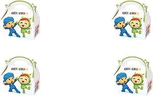 ALMACENESADAN 0652, Pack 4 cajitas de Carton para chuches Pocoyo y ...