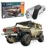 MOTION Kids Intellectual Development Educational Remote Control Building Block Military Off Road Vehicle Bricks STEM Toys Kit