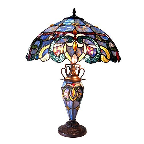 CHLOE Lighting CH18091PV18-DT3 Nora Double Lit Table Lamp One Size Multicolor