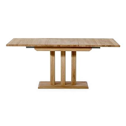 Alkove - Hayes – Ausziehbarer Massivholztisch, 180 cm, Wildeiche