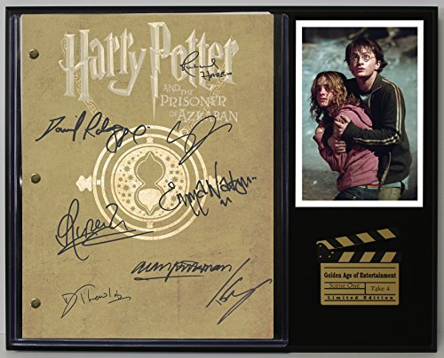 """Harry Potter and The Prisoner of Azkaban Limited Edition Reproduction Movie Script Cinema Display""""C3"""""""