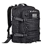 YoMont COBT24 37L 1050D Nylon Military Tactical Backpack, 3 Day Army Molle Assault Waterproof Rucksack Pack for Outdoors, Hiking, Camping, Hunting, Fishing, Bug Out Bag