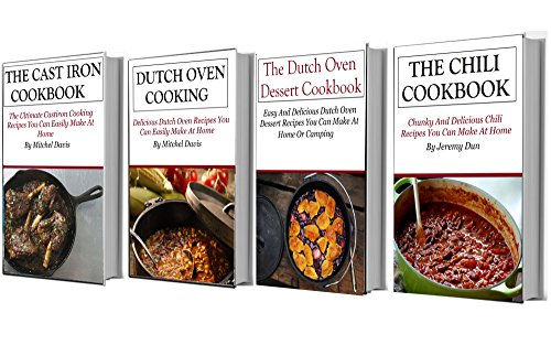 Dutch Oven Recipes Box Set: The Top Dutch Oven And Cast Iron Recipes In One Book by Terry Adams