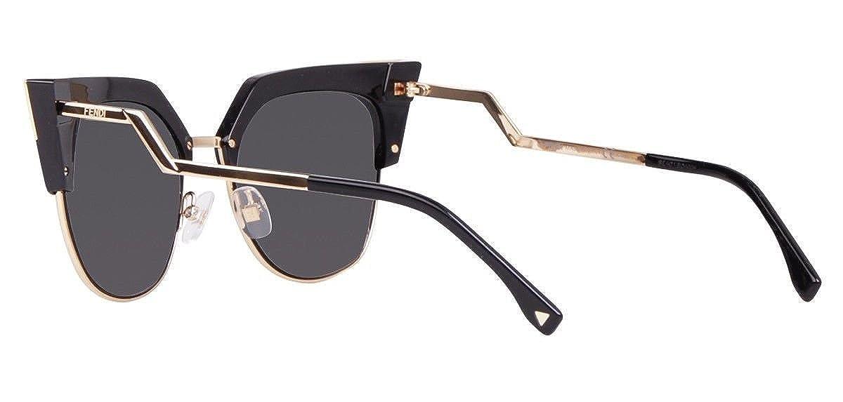 68a5d714954 Amazon.com  Fendi IRIDIA FF 0149 S REW P9 black gold  grey Sunglasses   Clothing