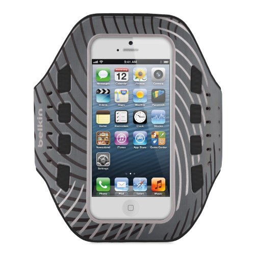 Belkin Pro-Fit Armband for iPhone 5 / 5S / 5c (Black / White)