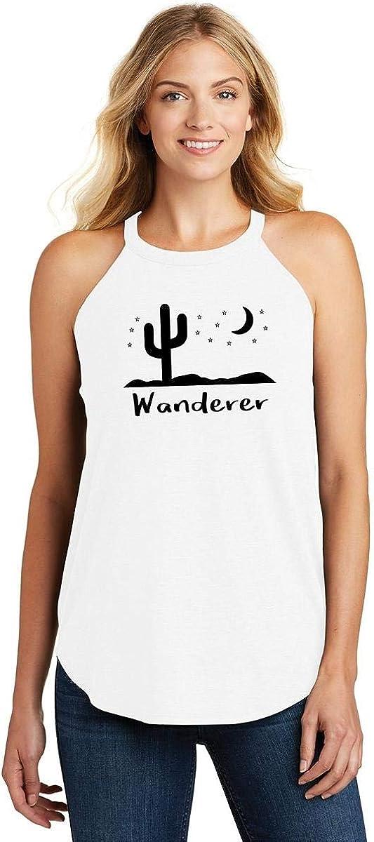 Comical Shirt Ladies Wanderer Graphic Tee Rocker