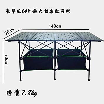 Xing Lin Mesa Al Aire Libre Mesa Plegable Portátil De Aluminio Exterior Cala Mostrar Tabla Ultra