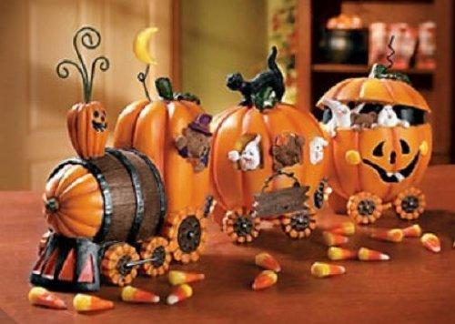 (The Pumpkin Train Halloween Holiday & Seasonal fall)