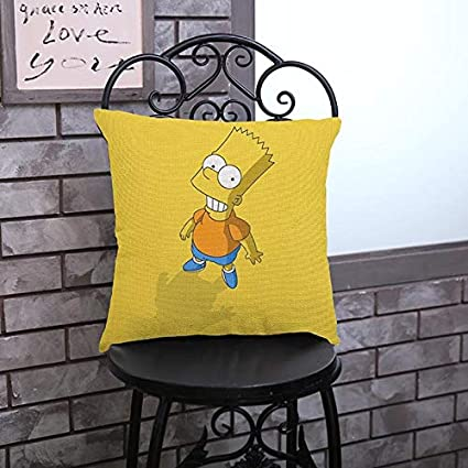 Leo Marner Family Comedy Humor The Cartoon Character Images Pillow Case Home Decoration Cushion Cover The Simpsons Fans Gifts