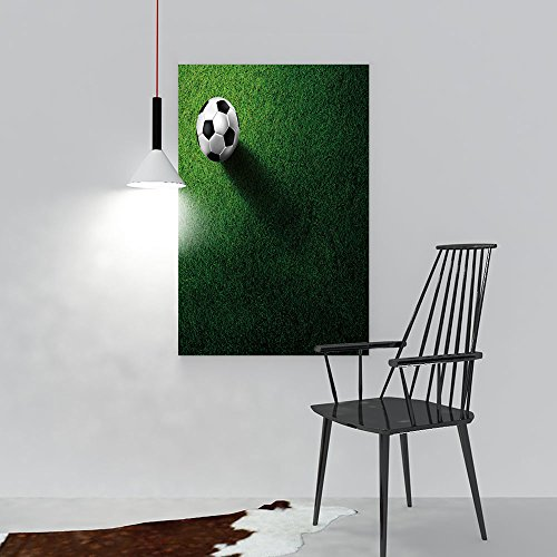 scocici1588 Modern Canvas Painting Wall Art soccer footbal on grass field For Wall Decor(24