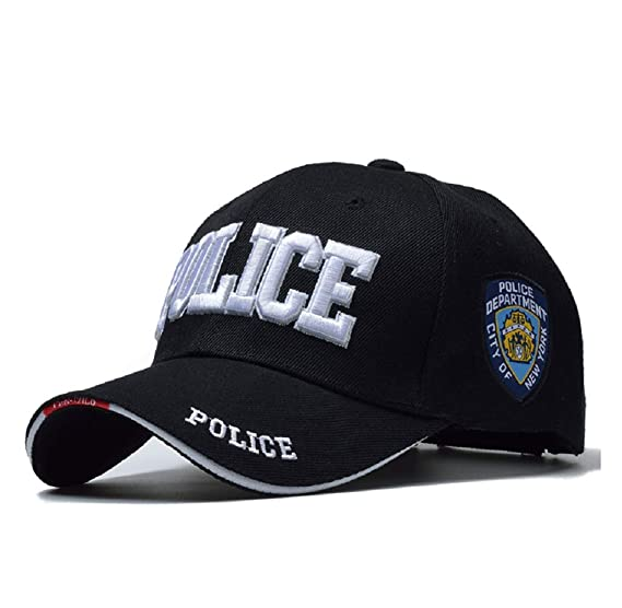 8183d05b836 Police Cap for Patrol Work Law Enforcement Any Officer Embroidered Baseball  Cap New York City Police