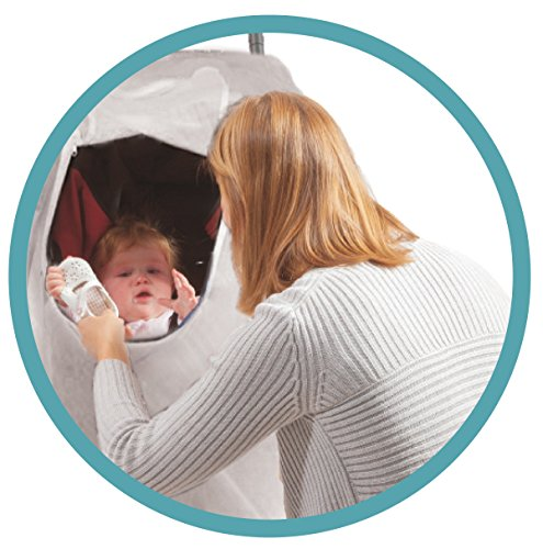 Comfy Baby EZ Access Zippered Window Bassinet & Carriage Net by Comfy Baby (Image #1)