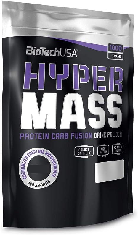 BioTech Hyper Mass Mezcla de Proteínas, Sabor Vainilla - 1000 gr