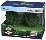 "JTT Professional Series Oak Trees 3"" HO/N Scale - 2 Pack"