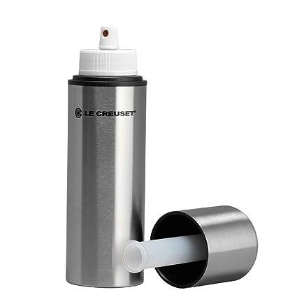 LE CREUSET Oil Spray, Acero Inoxidable, Plateado