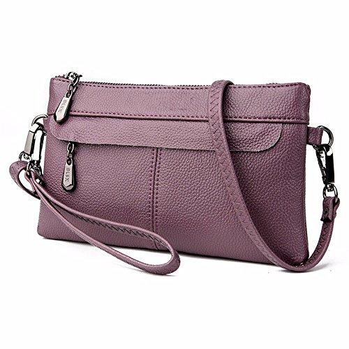 enveloppe mobile black l'épaule de 27 coursier violet occasionnelle sac cm 15 façon sac lady de 4 6YHwYg8fq