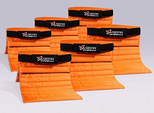 Digital Juice Orange Sand Bag 6-Pak by Digital Juice