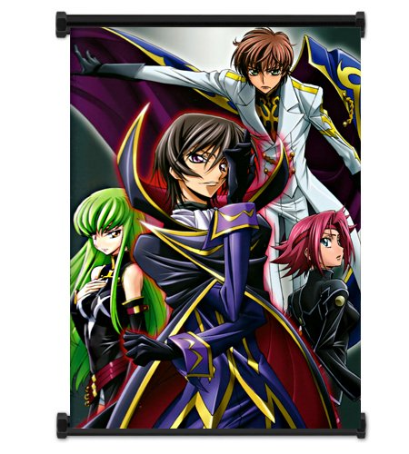 Code Geass Anime Fabric Wall Scroll Poster  Inches