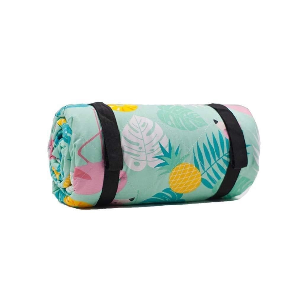 ZKKWLL Picnic Blanket Waterproof Outdoor Blanket Picnic mat Oxford Cloth Moisture pad Outdoor Camping Tent mat Floor mat 2 m 2 m Picnic mat (Color : C) by ZKKWLL