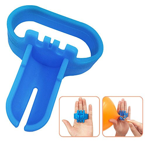Balloon Tying Tool Device Knotter Party Supplies Accessory Blue 1 PCS