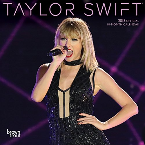 Taylor Swift 2018 7 x 7 Inch Monthly Mini Wall Calendar, Music Pop Singer Songwriter Celebrity