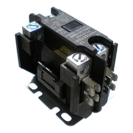OneTrip Parts Contactor 1 Pole 32 Amp Protactor Heavy Duty Enclosed  Replacement For Trane American Standard CTR1143