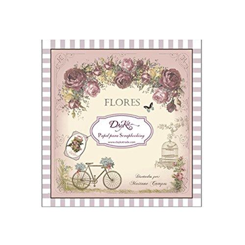 Dayka Trade Pad Dayka Flores 20x20cm American Crafts