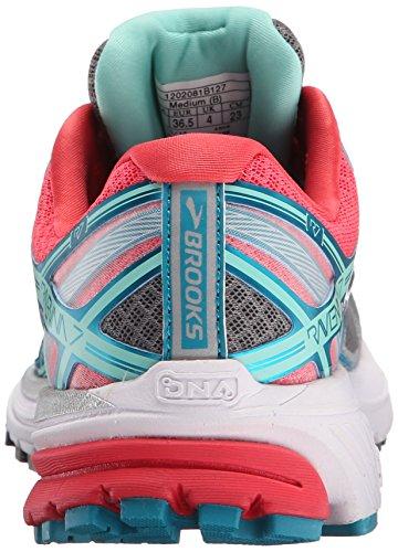 Paradise Pearl Ravenna Breeze Brooks Smoked Shoe 7 Capri Running Women's Pink fqW6Aq0