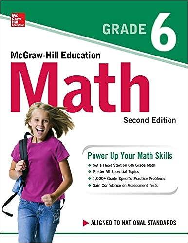Mcgraw Hill Answer Key Grade 6
