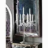 A&B Home Obelix Crystal 5-Candle Candelabra, 28.5-Inch