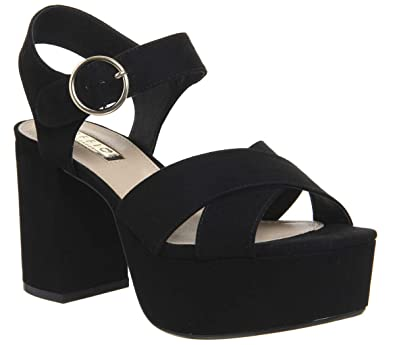 875c93e061 Office Macaroni Chunky Platform Heels: Amazon.co.uk: Shoes & Bags