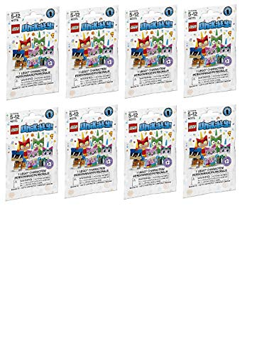 Party Favors/Party Treats Lego (41775) Unikitty Collectibles Series 1 (Bundle of 8) ()