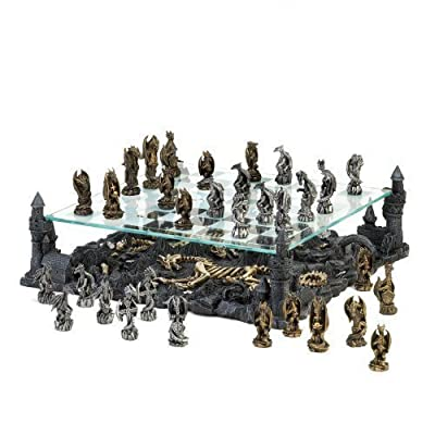 Black Dragon Chess Set by VGCE