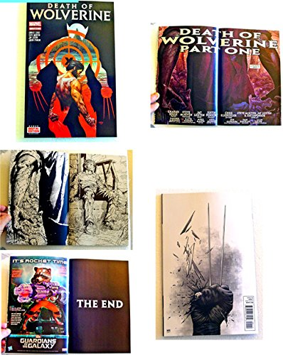 "Death Of Wolverine #1 FIRST EDITION ""HOLO-FOIL COVER"" Comic Book - Marvel Comics 2014 - 9.8 Grade UNCIRCULATED - PRINTED ON AUGUST 8, 2014 - THIS IS FOR ONE COMIC BOOK ONLY."