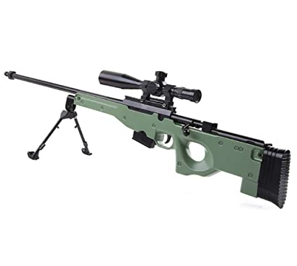 Buy Babygo Jungle Sniper Rifle Toy Gun Green Online At Low Prices