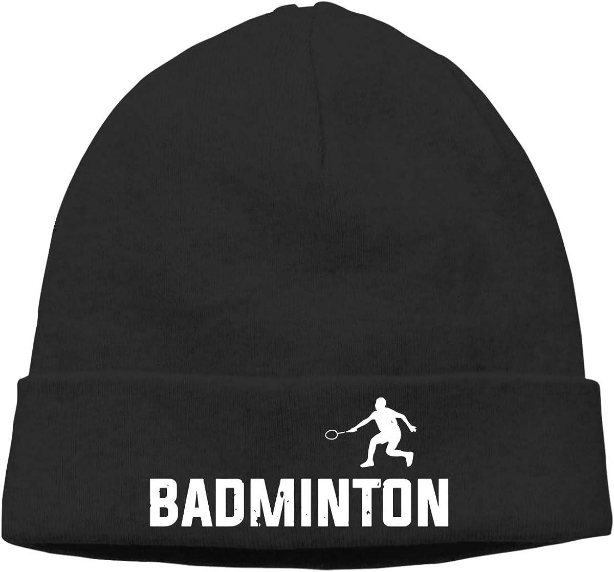09/&JGJG Badminton Men and Women Beanie Warm Knit Ski Skull Cap
