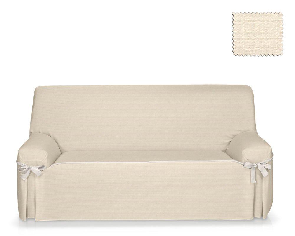 JM Textil Funda de sofá con Lazos Tika Tamaño 3 plazas (de ...